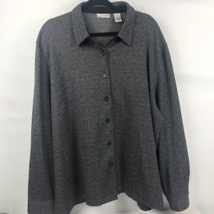 Drapes & Damon's  3X Cardigan light weight sweater